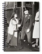His Smothered Love, 1918 Spiral Notebook