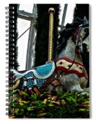 Holiday Horse Spiral Notebook