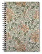 Honeysuckle Design Spiral Notebook