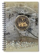Honoring The Us Military Services - Army Spiral Notebook