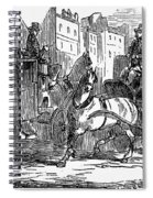 Horse Carriage, 1853 Spiral Notebook