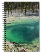 Hot Springs Yellowstone National Park Spiral Notebook