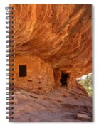 House On Fire Anasazi Indian Ruins Spiral Notebook