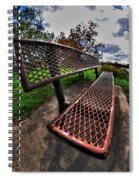 How Long Must One Wait Spiral Notebook