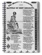 Hunters Of Kentucky, 1815 Spiral Notebook
