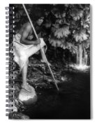 Hupa Fisherman, C1923 Spiral Notebook