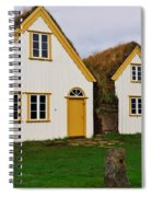 Icelandic Turf Houses Spiral Notebook