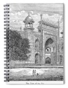 India: Taj Mahal Spiral Notebook
