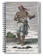 Indian Percussive Rattle Spiral Notebook