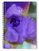 Iris Square Spiral Notebook