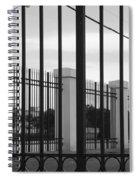Iron And Pillars Spiral Notebook