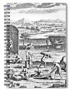 Iroquois Village, 1664 Spiral Notebook