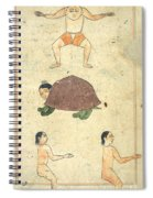 Islamic Mythical Creatures, 17th Century Spiral Notebook