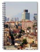 Istanbul Cityscape Spiral Notebook