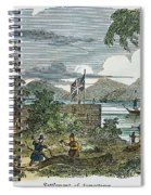 Jamestown Spiral Notebook