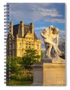 Jardin Des Tuileries Spiral Notebook