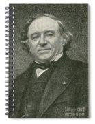 Jean Baptiste Dumas, French Chemist Spiral Notebook