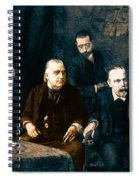 Jean-martin Charcot, French Neurologist Spiral Notebook