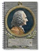 Jean Philippe Rameau Spiral Notebook