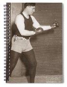 Jess Willard (1883-1968) Spiral Notebook