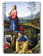 Jesus: Agony In The Garden Spiral Notebook