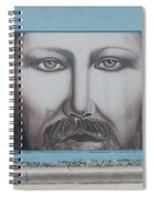 Jesus On The Street Spiral Notebook