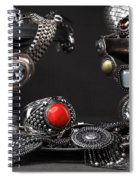 Jewellery Still Life Spiral Notebook