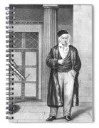 Johann Carl Friedrich Gauss, German Spiral Notebook