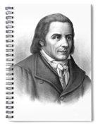 Johann Heinrich Pestalozzi, Swiss Spiral Notebook