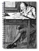 Johann Kaspar Lavater Spiral Notebook