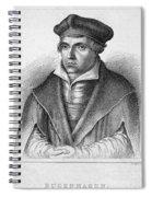 Johannes Bugenhagen Spiral Notebook