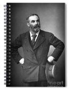 John Burns (1858-1943) Spiral Notebook