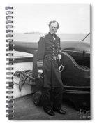 John Dahlgren, American Naval Officer Spiral Notebook