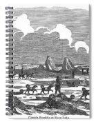 John Franklin Expedition Spiral Notebook