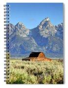 John Moulton Barn - Grand Teton National Park Spiral Notebook
