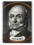 John Quincy Adams, 6th American Spiral Notebook