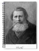 John Ruskin (1819-1900) Spiral Notebook
