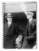 Johnson & Ruth, 1922 Spiral Notebook