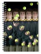 Juggler Spiral Notebook