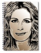 Julia Roberts In 2008 Spiral Notebook