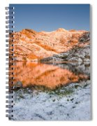 June Snowfall At Angel Lake Spiral Notebook