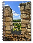 Kalemegdan Fortress In Belgrade Spiral Notebook