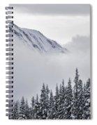 Kananaskis Country In Winter, Peter Spiral Notebook