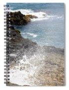 Kauai Spray Spiral Notebook