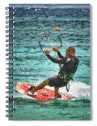 Kiesurfing Spiral Notebook