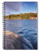 Killarney Provincial Park In Fall Spiral Notebook