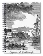 King Georges War, 1745 Spiral Notebook