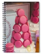 Laduree Macarons Spiral Notebook