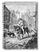Lady Godiva (11th Century) Spiral Notebook