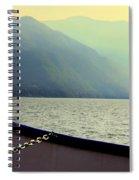 Lake Of Como Spiral Notebook